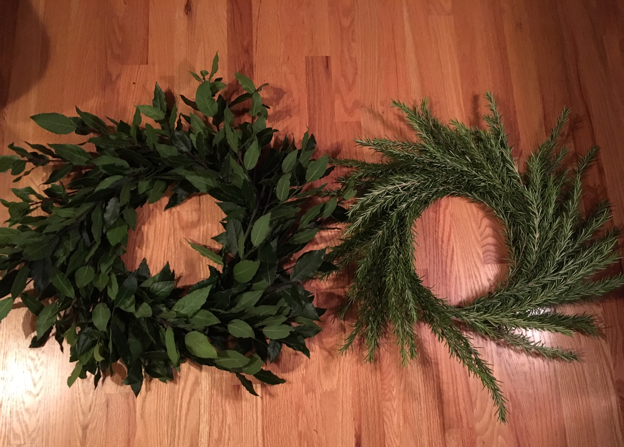 Build Your Own Wreath using the Plastic Wrap Method